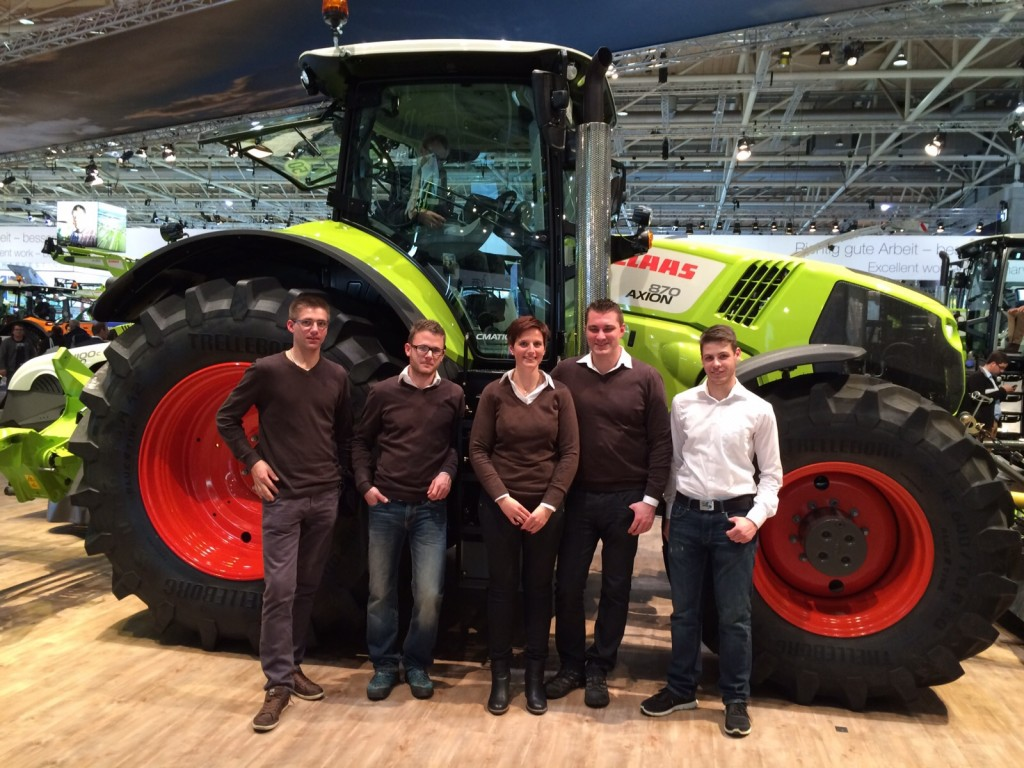 AGRITECHNICA BESUCH 2015